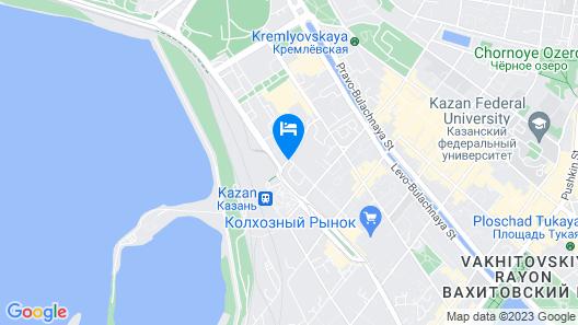 Hotel Crystal Map