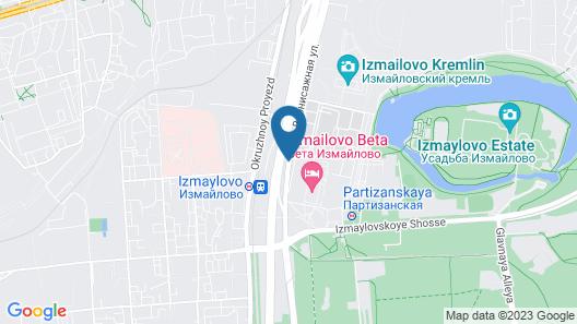Hotel Izmailovo Gamma Map