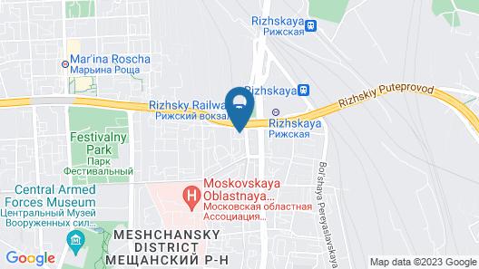 Holiday Inn Moscow-Suschevsky Map