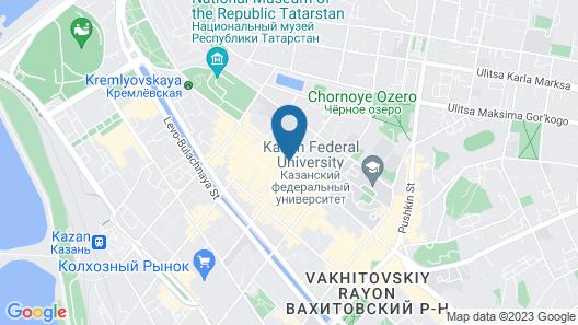 Hotel Nogai Map