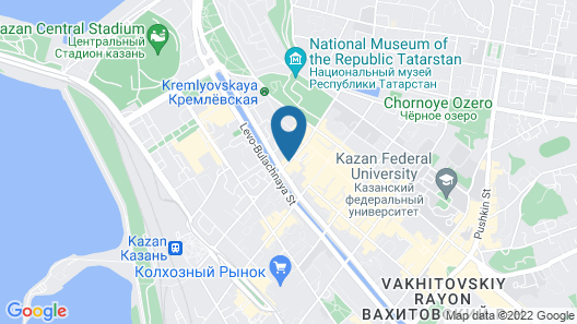 DoubleTree by Hilton Kazan City Center Map