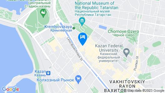 Apartament on Baumana Street Map