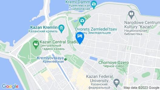 Courtyard by Marriott Kazan Kremlin Map