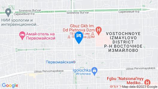 Park Hotel May Map