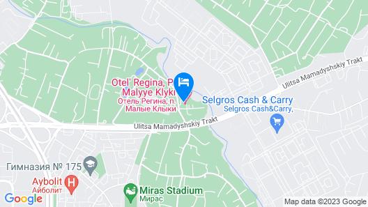 Regina Malye Klyki  Map