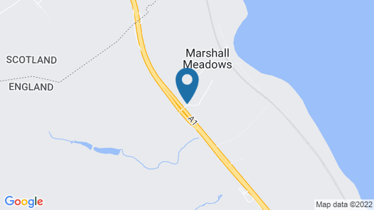 Marshall Meadows Country House Hotel Map