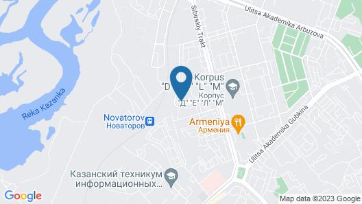 Druzhba Mini Hotel Map