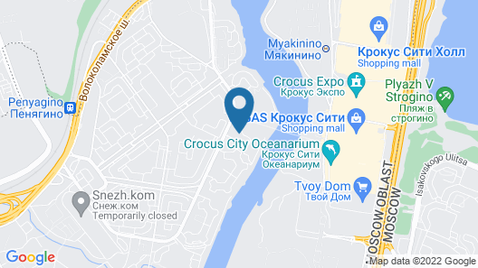 Lucky People Hostel Map
