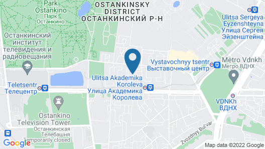 Flats of Moscow Apartment Kustanayskaya Map
