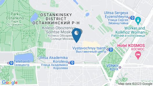 ApartLux Ostankinskaya Map