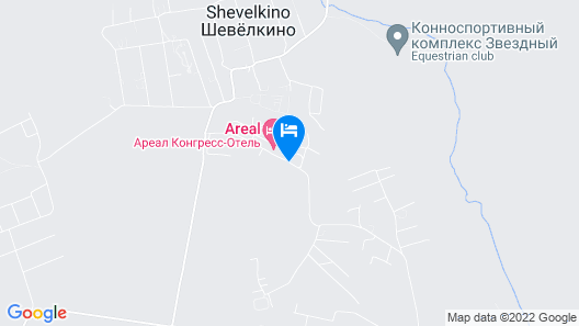 Areal Congress Hotel Map