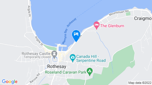 Cannon House Hotel Map