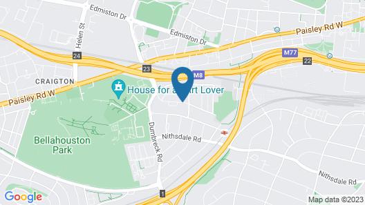Beautiful 4-bed Villa in Glasgow Map