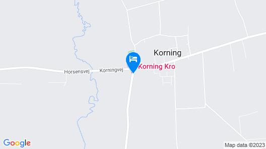 Hotel Korning Kro Map