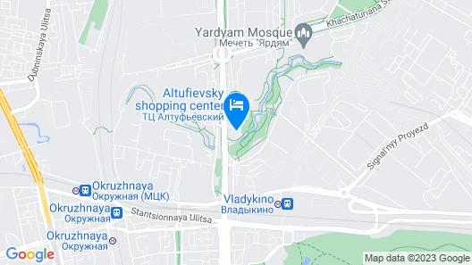 Hotel Vladykino Map