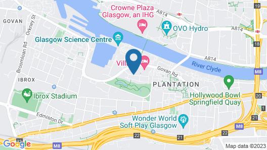 Village Hotel Glasgow Map
