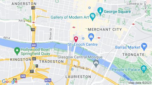 Jurys Inn Glasgow Map
