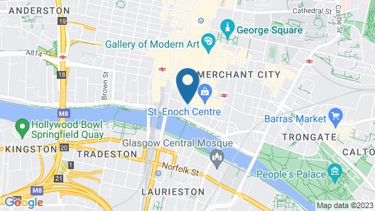 The St Enoch Hotel - Hostel Map