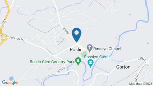 The Original Rosslyn Hotel Map