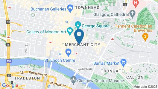 Merchant City Inn Map