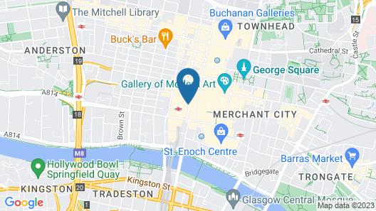 Rennie Mackintosh Station Hotel Map