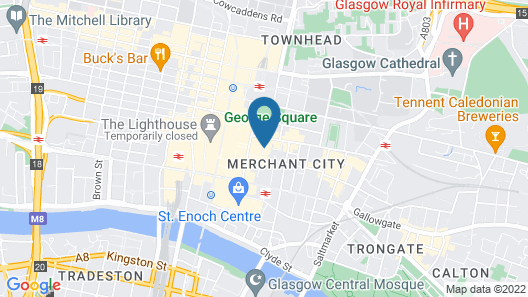 Ibis Styles Glasgow Centre George Square Map