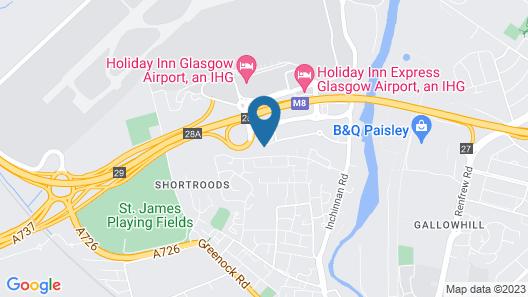 Travelodge Glasgow Airport Map