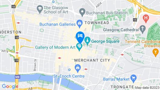 Native Glasgow Map
