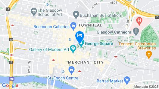 Millennium Hotel Glasgow Map