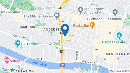 Hilton Glasgow Map