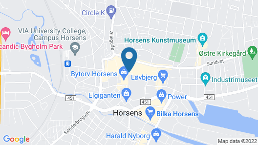 Teaterhotellet.dk Map