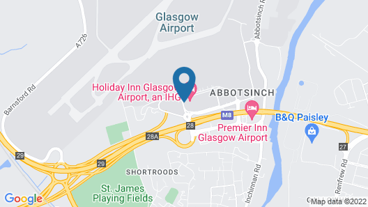 Holiday Inn Glasgow Airport Map