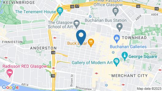 Kimpton Blythswood Square Hotel Map
