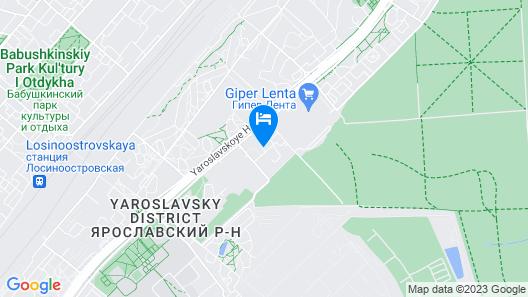 Maxima Slavia Hotel Map