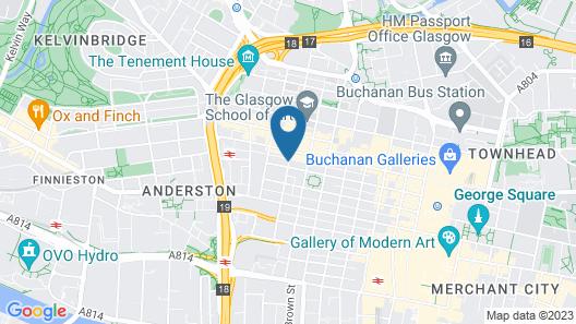 Novotel Glasgow Centre Map