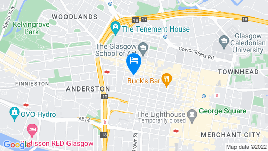 Novotel Glasgow Centre Map