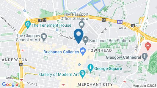Holiday Inn Express Glasgow Theatreland Map