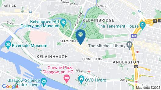 Devoncove Hotel Map