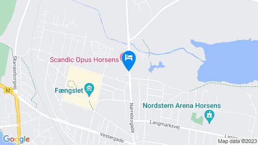 Hotel Opus Horsens Map