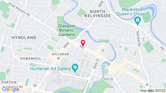 Kelvin Apartments Map