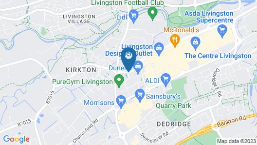 Chain Runner, Livingston by Marston's Inns Map
