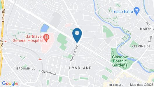 Hotel du Vin & Bistro Glasgow Map