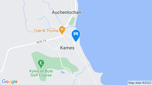 Kames Hotel Map