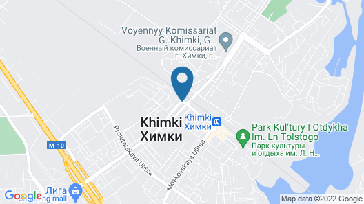 Hostel Korona Map
