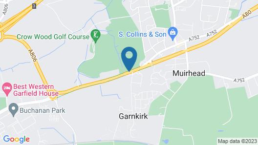 Crowwood Hotel Map
