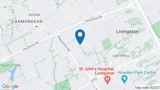 Livingston Lodge Hotel Map