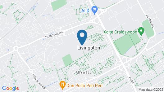 Edinburgh Hills Map