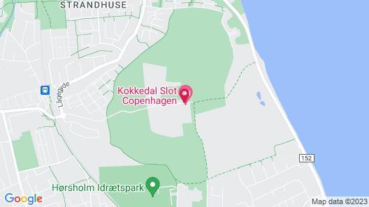 Kokkedal Castle Copenhagen Map