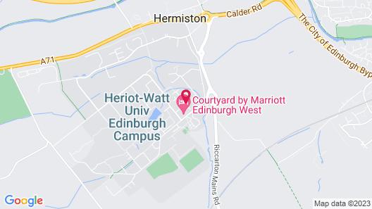 Courtyard by Marriott Edinburgh West Map