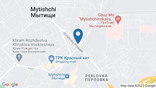 BestFlat24 Deli Mytishi Map
